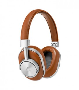 MW60 Wireless Over-Ear Headphones Brown Leather