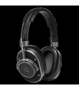 MW40 Wireless Over-Ear Headphones Black Leather