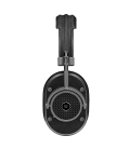 MW40 Wireless Over-Ear Headphones Black Leather