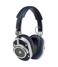 MW40 Wireless Over-Ear Headphones Navy Leather