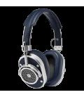 MW40 Wireless Over-Ear Headphones Navy Leather