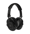 MH40 Over-Ear Headphones Black Leather & Metal