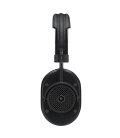 MW40 Wireless Over-Ear Headphones Black Leather & Metal