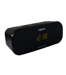 Neon Electronic ® MS107-05 clock radio with dual alarm