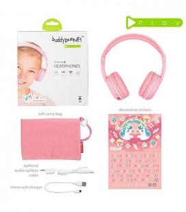 BuddyPhones Play Pink Sakura