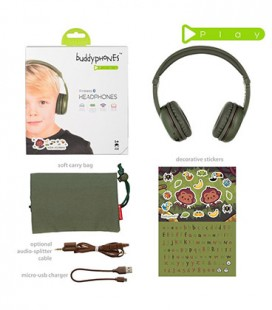 BuddyPhones Play Green Amazon