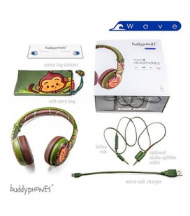 BuddyPhones Wave Monkey
