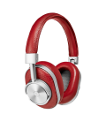 MW60 Wireless Over-Ear Headphones Red Leather