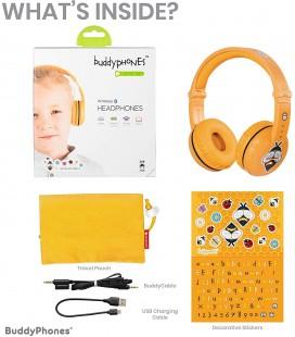 BuddyPhones Play yellow