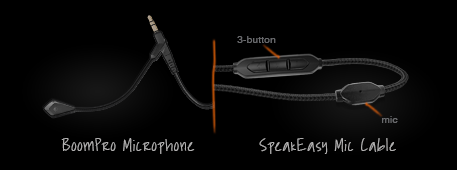 V-MODA Crossfade Wireless BoomPro & 3-Button Cables