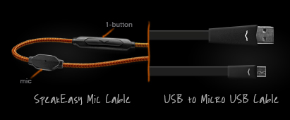 V-MODA Crossfade Wireless Cables